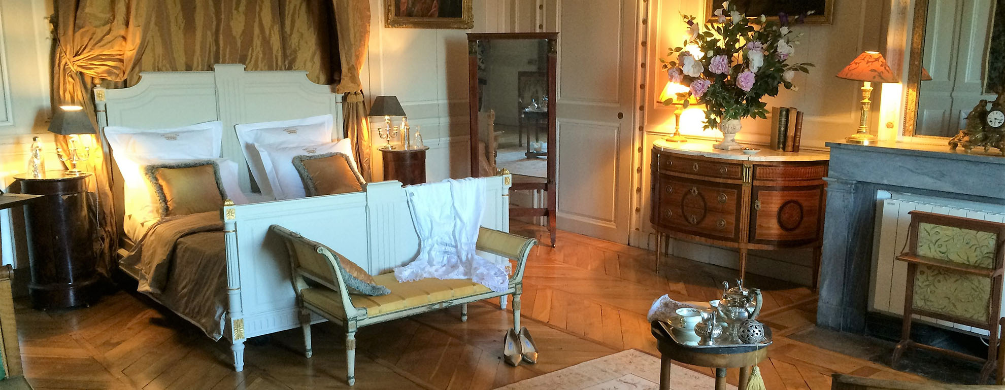 Chambres d h tes ch teau saint trys for Chambre chateau